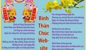 Bính Thân Chúc Web-site Nhà