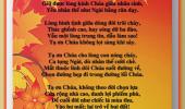 Tạ Ơn CHÚA & Còn Vương Chút Nắng (Thơ Tranh)