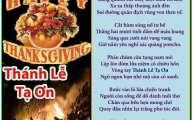 Thánh Lễ Tạ Ơn & Lễ Thanksgiving & Tạ Ân Cao Dầy