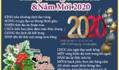 Mừng Giáng Sinh 2019 & Năm Mới 2020