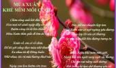 Mùa Xuân Khẻ Mĩm Môi Cười