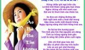 Áo Bà Ba Tím Hương Quen
