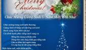 Chúc Mừng Giáng Sinh & Năm Mới Web Nhà