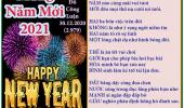 Chúc Mừng Năm Mới & Ngày Đầu Năm Mới & Tờ Lịch Cuối Năm (TT)