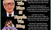 Thương Tiếc Nhạc Sĩ Nguyễn Văn Đông