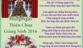 Mừng Ngày Thiên Chúa Giáng Sinh
